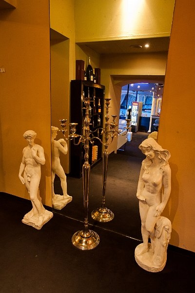 Statues and Mirror in Brothel Maxim Wien