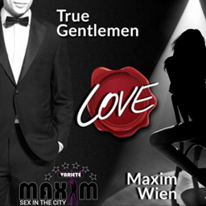 Maxim is a True Vienna Gentlemen Club advert