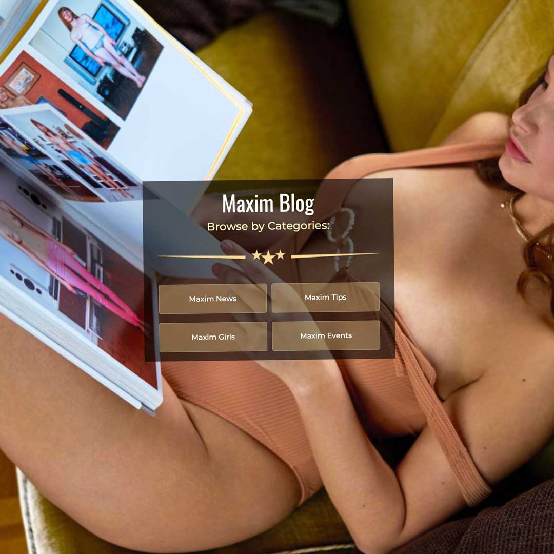 Sexclub Maxim Wien innovated its Blog page about adult entertainment and sex topics.