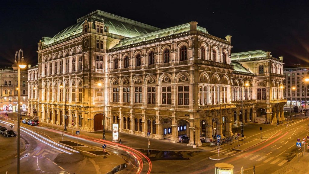 Nightclub Maxim Wien is located across the Vienna State Opera