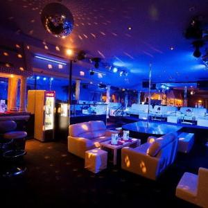 Laufhaus Maxim in blue lights