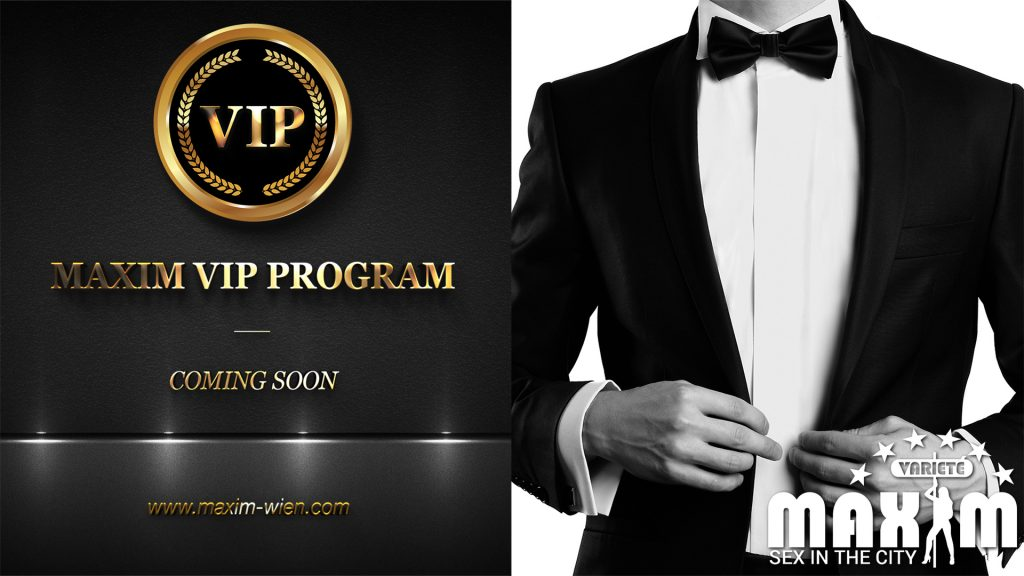 Maxim Club Wien VIP Mitgliedschaft ab 01.02.2020 online