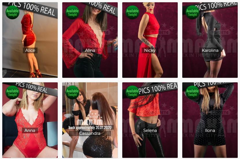 Wien Girls in Maxim