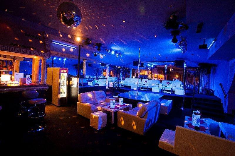 sex club Maxim Wien's interiour
