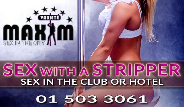 sex in Vienna with a stripper in Maxim Wien