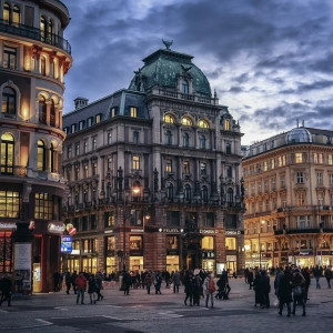 Vienna city centre and Maxim Wien