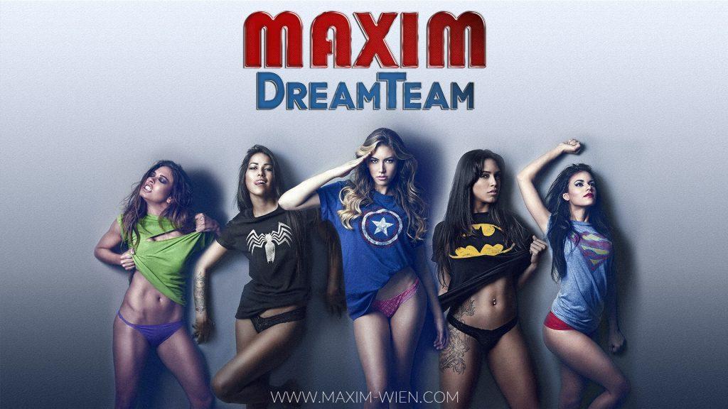Sexclub Maxim Wien mit einem sexy Dreamteam
