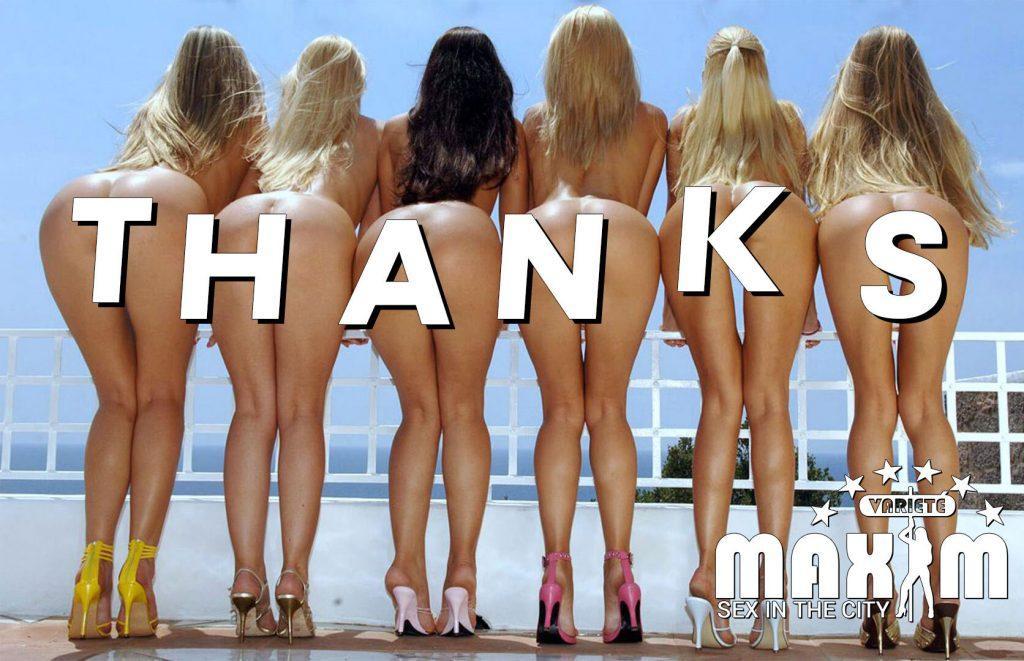Bordell Maxim Girls say thank you for visiting us!