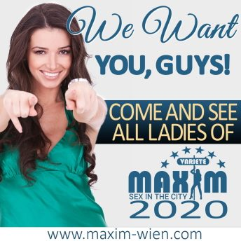 We want you guys banner of Puff Wien Maxim