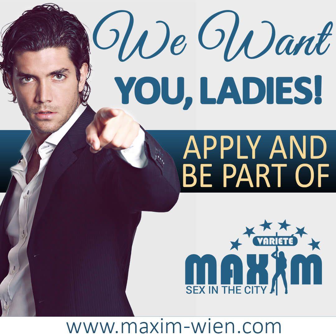 Sex Jobs at Maxim Wien